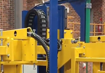 Automated Inline Strapping System for Brick Manufacturer